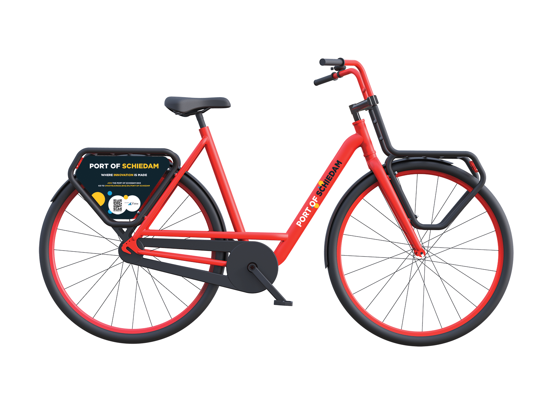 X.bike transporter Port of Schiedam